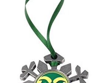 Colorado State Rams Snowflake Ornament