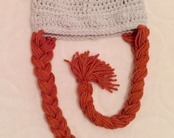 Viking Hat with Braids