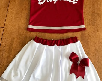 Saved By The Bell Inspired Cheerleader Outfit