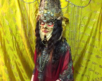 Golden Seraphim Headdress