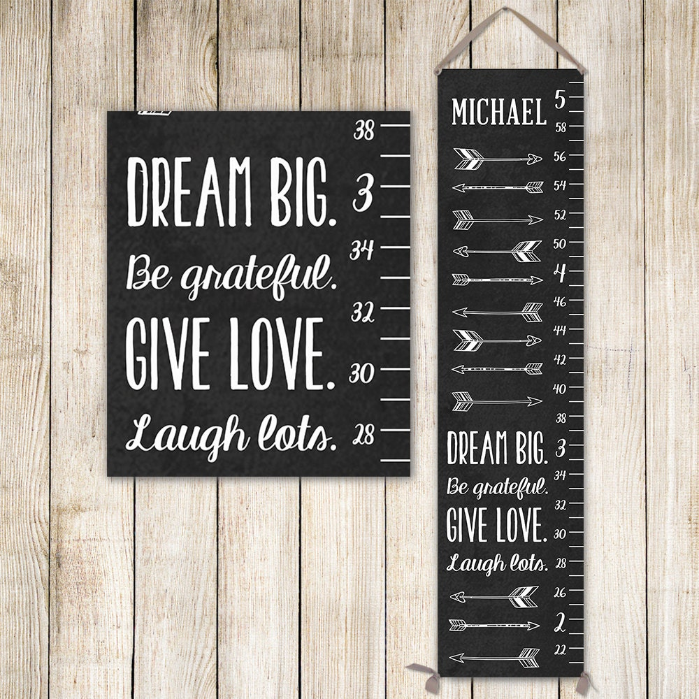 Arrow growth chart on canvas personalized growth chart chalk arrow growth chart on canvas personalized growth chart chalk art measuring stick height chart gc0002c nvjuhfo Image collections