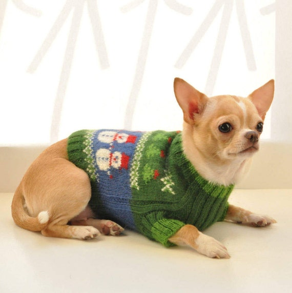 green dog sweater chihuahua sweater dog clothing chihuahua. Black Bedroom Furniture Sets. Home Design Ideas