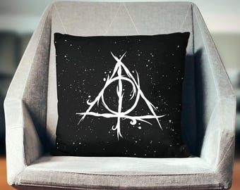 Harry Potter Pillow Case | Harry Potter Cushion | Harry Potter Pillowcase | Hogwarts Decor | Harry Potter Pillow Cover | Harry Potter Gift