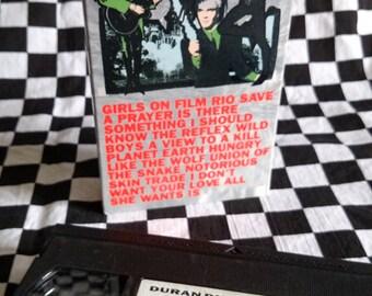 Dreamy Duran Duran Decade VHS! Girls on Film - Rio - The Reflex - 1989 Capitol Video - VG
