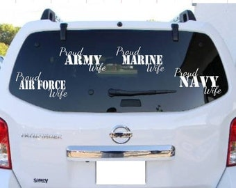 Proud Army Marine Navy Air Force Wife , Proud Mom Dad Sister