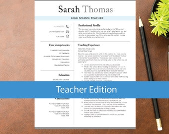 teacher resume template for word education resume a4 letter 1 2 - Education Resume Template Word