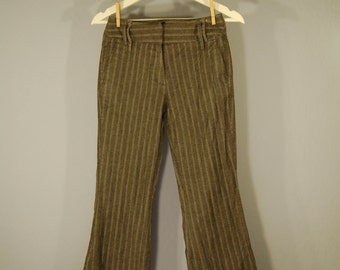 Second hand pants 34 strike Pant bootcut pinstriped classic