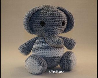 Elephant amigurumi Ydekado handmade gift idea
