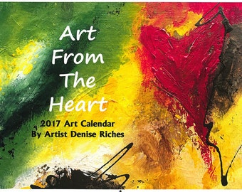 Valentine's Day Gifts / 2017 Wall Calendar / Art Calendar. Find Hearts and Inspirational Quotes for a romantic Valentines Day gift and more.