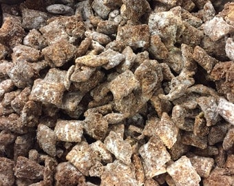 Puppy Chow - Muddy Buddies - Peanut Butter Chocolate Puppy Chow Snack - Puppy Chow Chex Mix - Wedding Favors