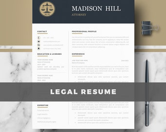 Lawyer resume etsy attorney resume cv template legal resume cv lawyer resume cv altavistaventures Gallery
