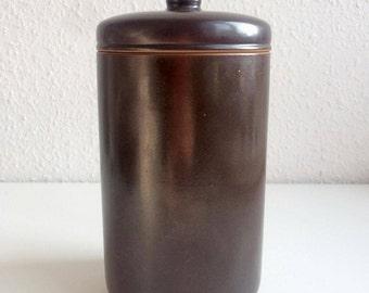 L. Hjort - Large Lidded Jar - Danish Design