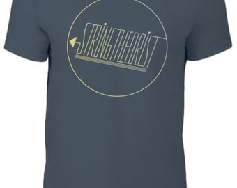 Men's T Shirt Graphic (Circle Logo) - Stringtheorist Merchandise