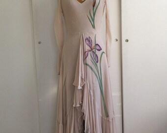 1970's Iris Maxi Dress