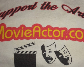 MovieActor.com Top Premium Aged Two Word Domain Name + Organic Traffic with Support the Arts Website