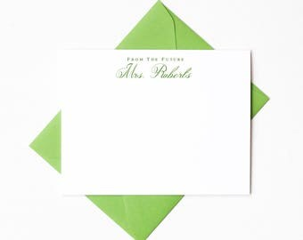 wedding shower thank you notes