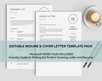 Sql Developer Resume Word Minimalist Resume  Etsy Consulting Resume Template Excel with Sales Resume Samples Excel Minimalist Resume Templates Perfect For Customer Service Resume Edit In  Ms Word Included How To Write Education On Resume Excel