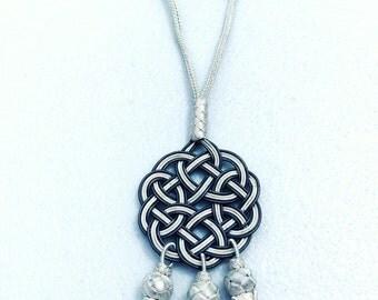 Glamorous Handmade & Handwoven Necklace (Kazaziye) Pure Silver