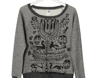 Bohemian Tree of Life French Terry Sweatshirt
