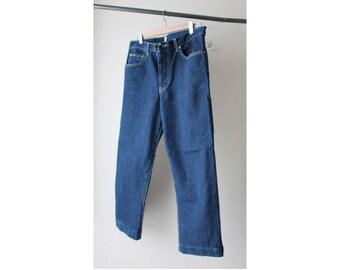 1990s Calvin Klein Boyfriend Crop Jeans
