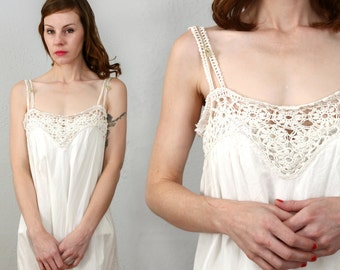 SALE - 1900s One Piece Antique Night Gown