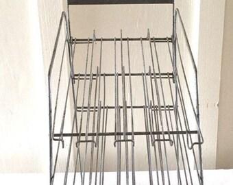 Ripple Tie Metal Display Rack / Vintage