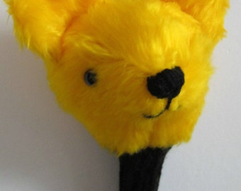 Golf Club Head Cover, Bear Club Head Cover, Golfers Club Saver, Novelty for Golfers, Coldham Novelty Gift, Neutral Present, For Him or Her.