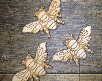 Bee Magnets (Set of 3 - Natural)