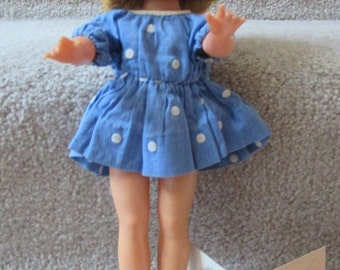 1950s Ideal Shirley Temple doll with original product card