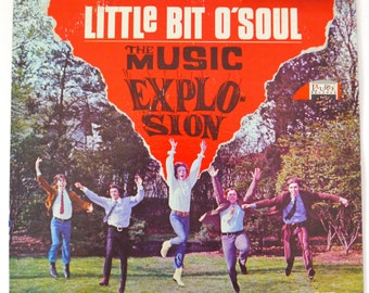 Vintage 60s The Music Explosion Little Bit O' Soul Album Record Vinyl LP