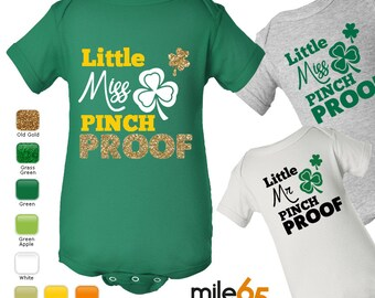 St. Patrick's Day One-Piece or Baby Tee