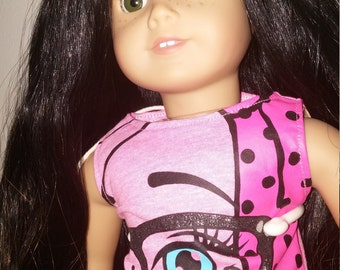 One Of A Kind Customized American girl Doll With Clothing package