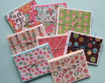 8 SETS-Note cards,all occasion assorted card sets-Blank cards-thank you cards,stationery gift sets,greeting cards,handmade/homemade cards