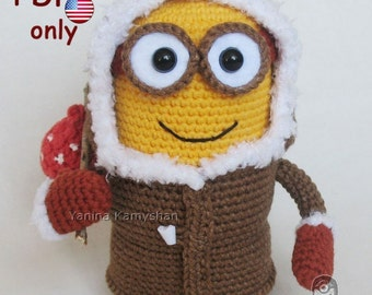 Eskimo Monster, amigurumi crochet pattern