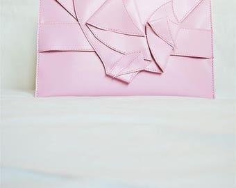 Clutch Arzatius,Dark Pink Elegant Clutch,Bridesmaid Handbag,Wedding Faux Leather Clutch,Vegan Electronic Case,Daywear,ATTITUDE157 Bag,Tote