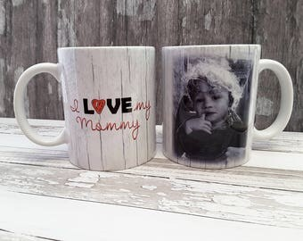 Photo Mugs, Custom Mugs, Personalized Mug, Personalized Coffee Mugs, Picture Mugs, New Mom Gifts, Gifts for Mom, Coffee Mug, Mothers Day