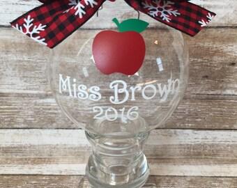Personalized Ornament/Teacher gift/Teacher Ornament