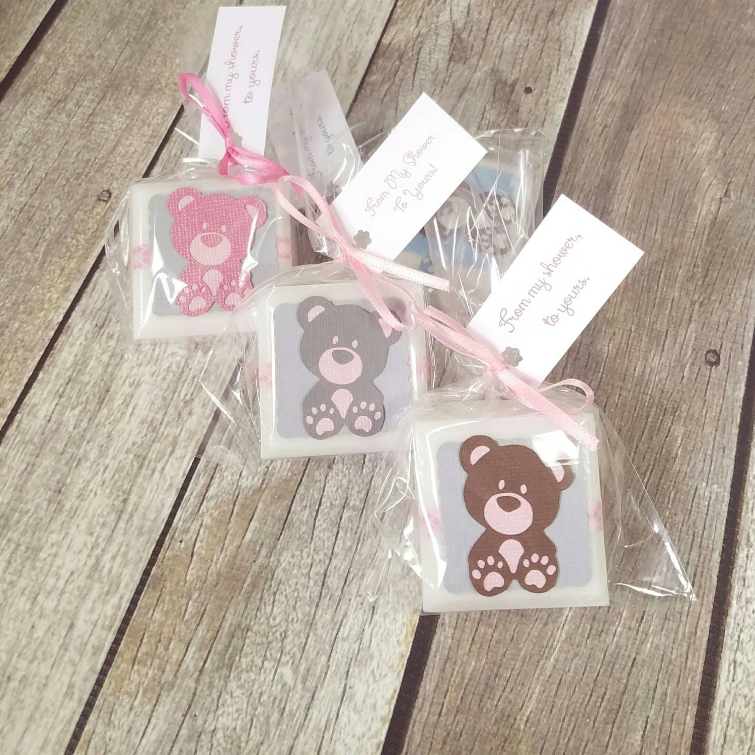 16 Teddy Bear Baby Shower Favors baby Shower Decorations Teddy