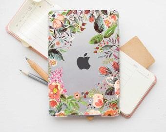 iPad Mini 4 Floral Clear Case iPad 3 Case iPad Hard Case iPad Mini 4 Case iPad Mini Clear Case iPad Mini 2 Case iPad Pro 12.9 Cover PI_012