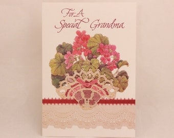 NEW! Vintage Religious Grandmother Valentine's Day by Dayspring. Single Greeting Card with Envelope.