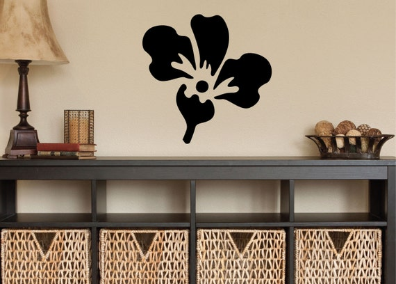 Hawaiian flower 0226 home decor wall decor hawaiian for Hawaiian home decorations