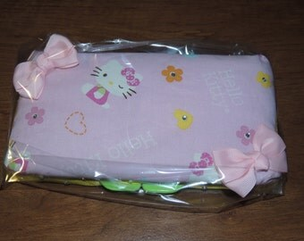 Hello Kitty Baby Wipe Case