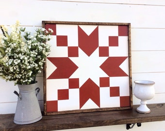 Stepping Stones Barn Quilt CUSTOM COLORS AVAILABLE