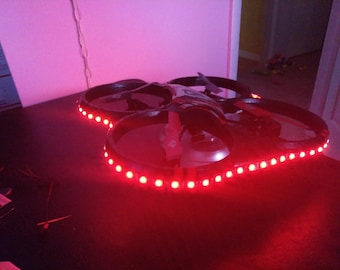 Drone LED wrap around light kit