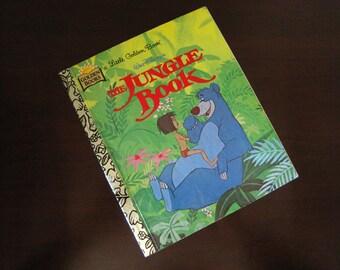 The Jungle Book – Vintage Children's Little Golden Book – Walt Disney – 98272-01