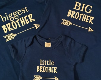 Biggest brother shirt, biggest brother, brothers shirt,