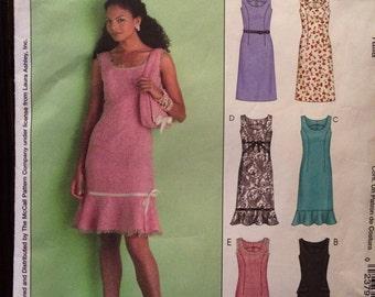 Gorgeous Chanel Style Dress Pattern---McCalls 4768---Size 16-18-20