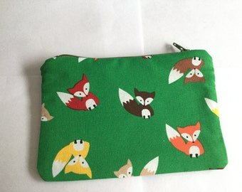 Small notions/jewellery/cosmetics/ coin pouch