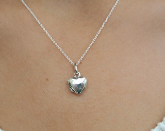Tiny locket pendant