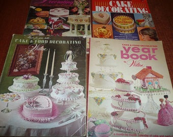Wilton Cake Decorating Books 1970's